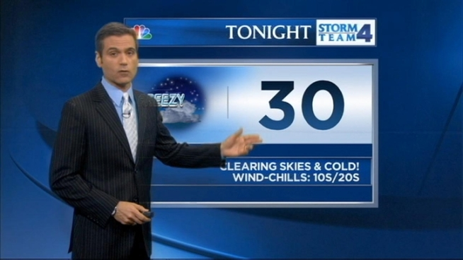 Chris Cimino's forecast for Tuesday, March 19.