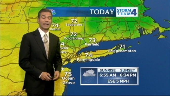Chris CImino's morning forecast for Wednesday, October 3.