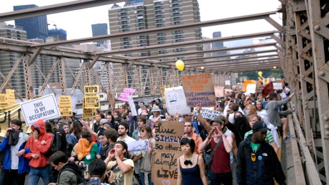 One Year Later: Occupy Wall Street Protests