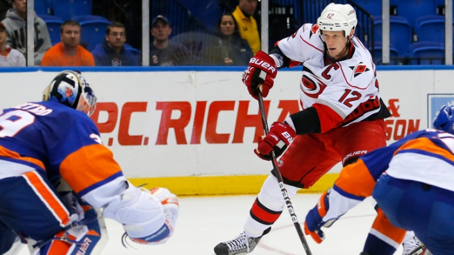 Islanders Fall to Hurricanes 6-4