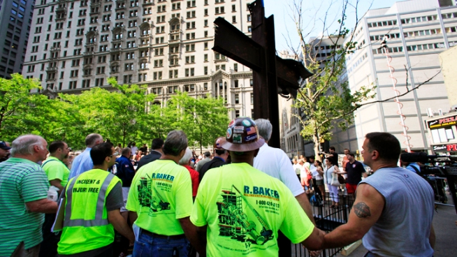Atheists continue battle against World Trade Center cross