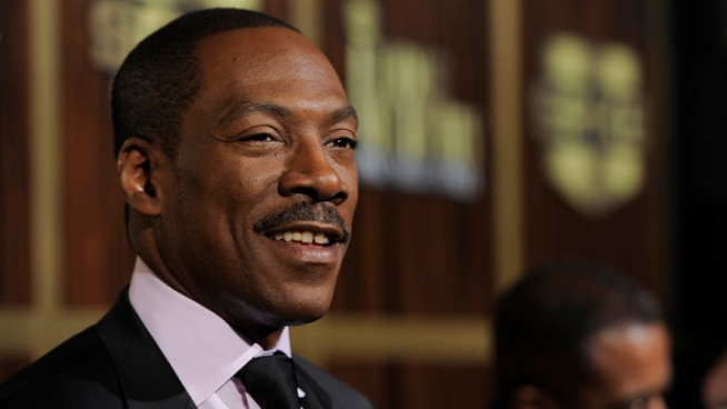 Eddie Murphy Honored by Hollywood Pals