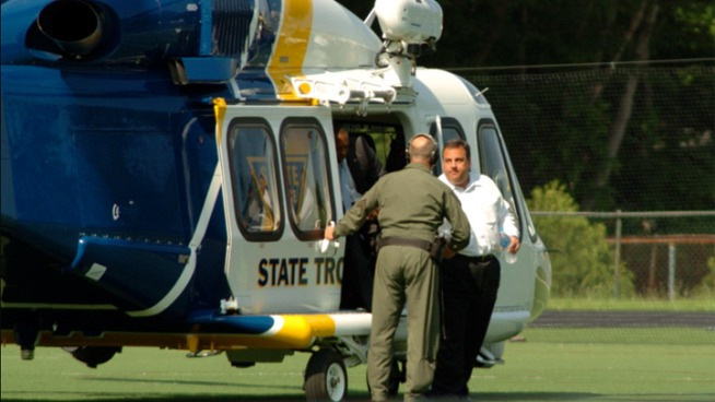 NJ Gov: Busy Schedule Calls for Chopper