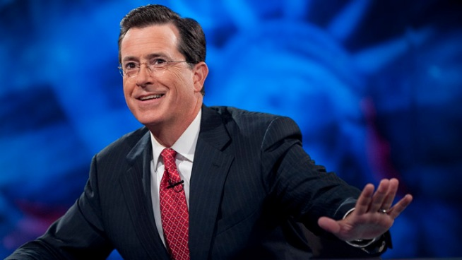 """Colbert"" Returns Monday with Salute to Ailing Mom"
