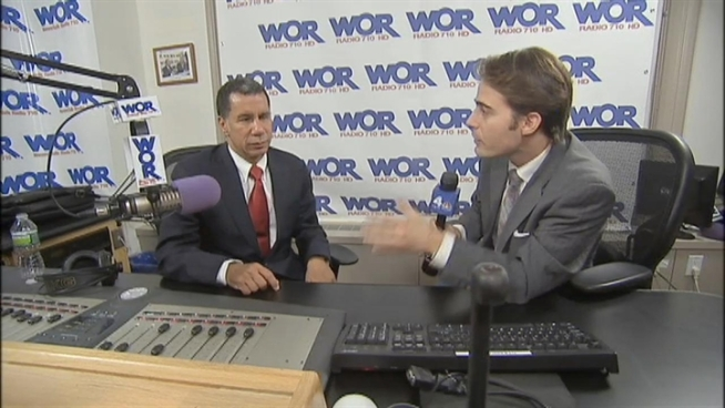 Former New York Gov. David Paterson hit the airwaves with a new radio show.His first guest: Eliot Spitzer. Chris Glorioso reports on the conversation between the two ex-governors.