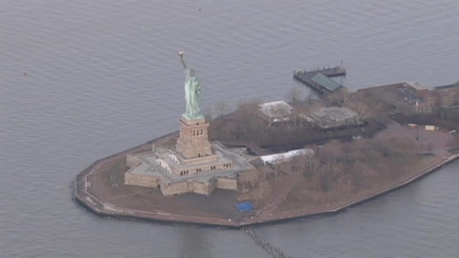 The Statue of Liberty will reopen to the public on July 4, more than nine months after Hurricane Sandy destroyed its docks, security screening system and energy infrastructure.New York Sen. Charles Schumer told NBC 4 New York Tuesday that the patriotic landmark will reopen on the holiday. The U.S. Department of the Interior confirmed the date is set.