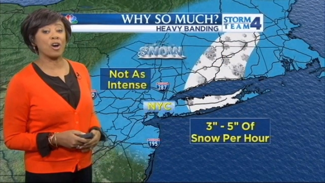 Janice Huff's evening forecast for Saturday, February 9, 2013.