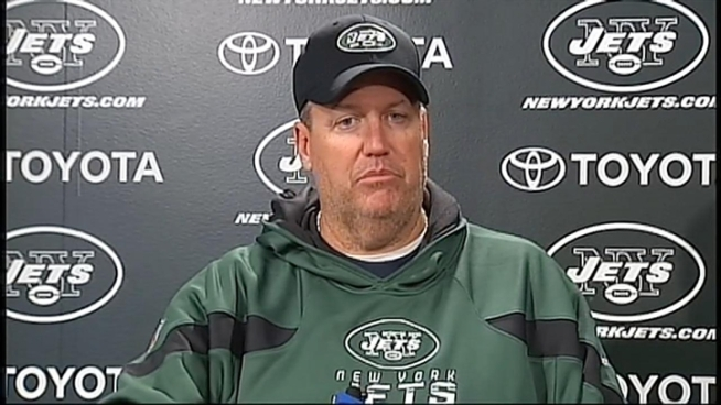 Rex Ryan says the Jets have to win against the Giants in Saturday's Christmas Eve showdown at MetLife Stadium. And if they don't, he says the blame will all fall on him.