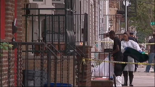 A man fatally stabbed his mother, father and 3-year-old niece at a home in Harrison, N.J., just across the Passaic River from downtown Newark.