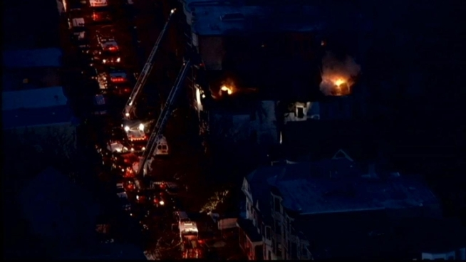 A Yonkers apartment building is a smoldering mess after a massive 4-alarm fire ripped through the building. News 4's Ida Siegal has the late details.