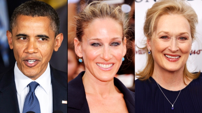 Stars Come Out for Obama