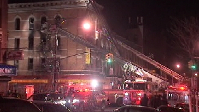 40 Injured In Brooklyn Fire