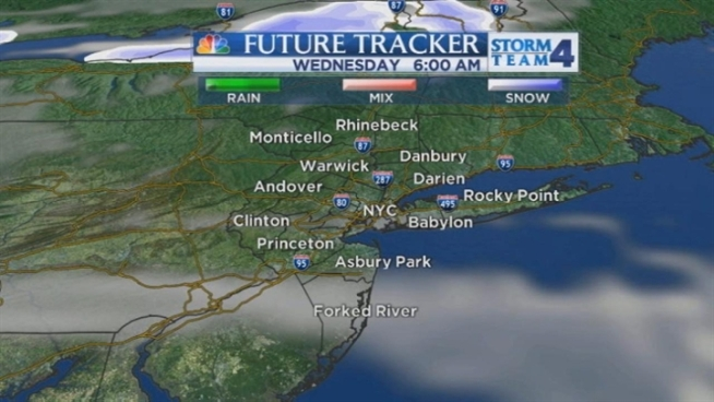 Steve Villanueva's evening forecast for Tuesday, January 1.
