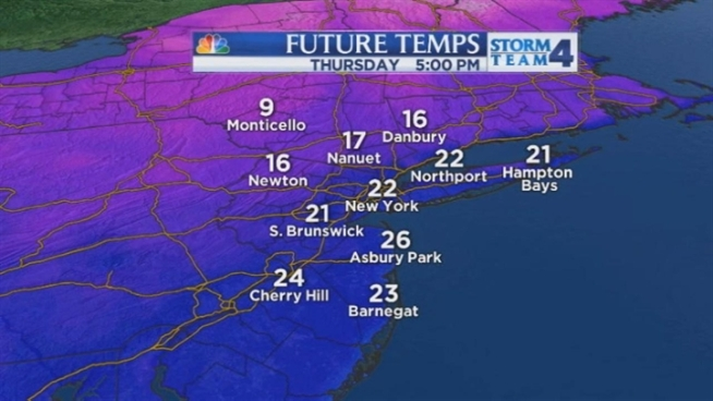 Janice Huff's late evening forecast for Tuesday, January 22.