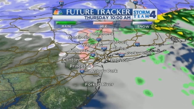 Steve Villanueva's late evening forecast for Wednesday, December 26.