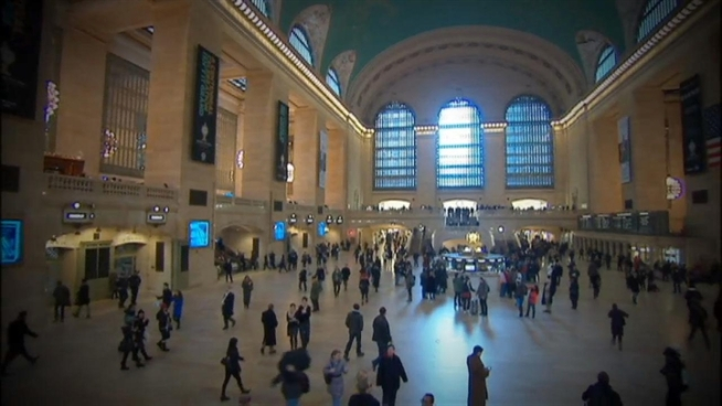 Michael Gargiulo visits Grand Central Terminal, on the day of the building's 100-year anniversary, to talk with author Anthony W. Robins about the construction of this New York City landmark.