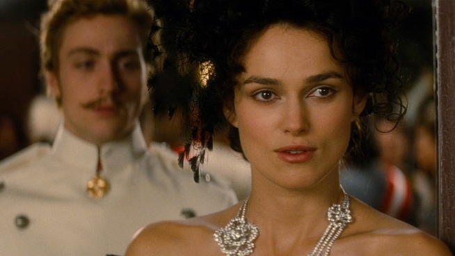 Leo Tolstoy's classic love triangle is brought to life by Keira Knightley, Jude Law and Aaron Taylor-Johnson, with help from director Joe Wright and screenwriter Tom Stoppard.