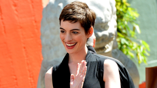 Anne Hathaway chats about what she did to get into