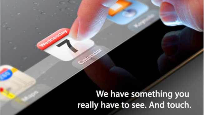 iPad 3 Expected at Apple's March 7 Event