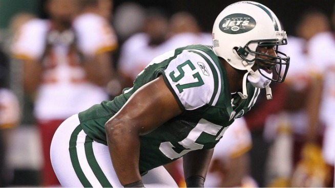 Jets Linebacker Fined for Obscene Gesture