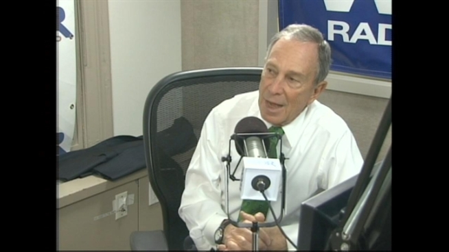 During his weekly radio show Friday, Mayor Bloomberg said he agreed with Yahoo CEO Marissa Mayer on the issue of working from home.