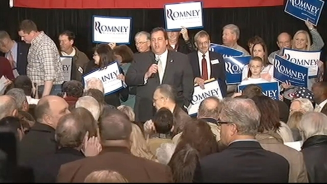Chris Christie was campaigning for Mitt Romney in Iowa when he was heckled by Occupy Wall Street protesters at an appearance. He shot back at them, saying,