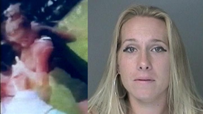 A Long Island mom has been arrested and charged with allegedly encouraging two 12-year-old girls to duke it out during a dispute outside an elementary school. Roseanne Colletti reports.