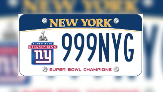Pols: 9/11 License Plates Over Giants