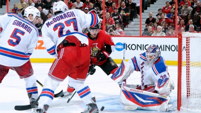 Rangers Take Thriller in Ottawa
