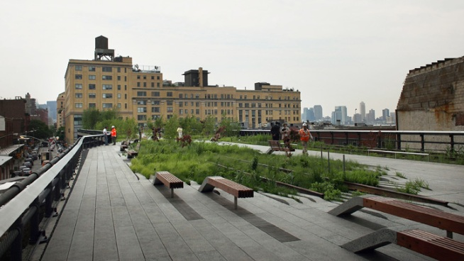 High Line Extension Set to Open