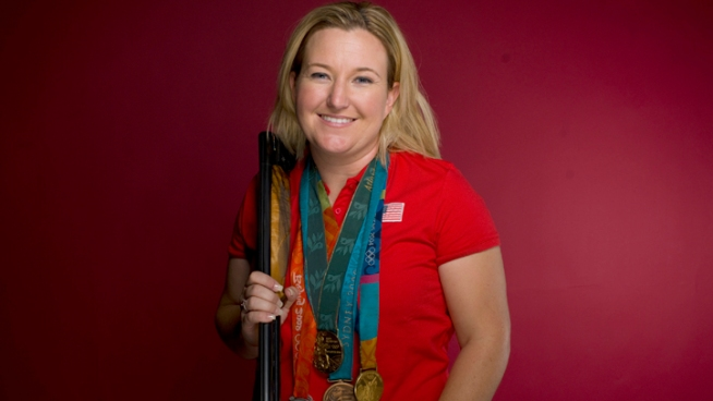Kim Rhode has competed in four Olympic Games, winning metals in all four, two of them gold. She's a six-time national champion and while shooting is her sport, she has many other hobbies. Chuck Henry reports from Redlands for the NBC4 News at 5 p.m. on July 27, 2012.