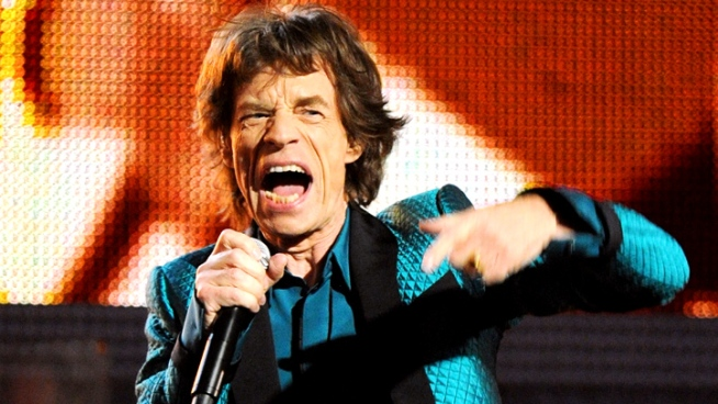 Mick Jagger, who will host the