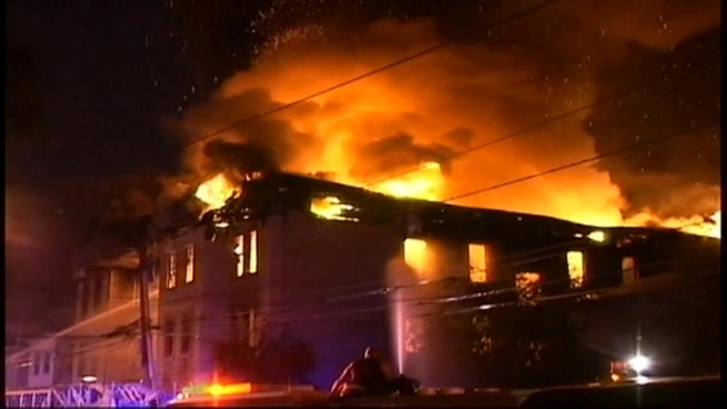 Two children and two adults lost their lives in a fast-moving blaze that engulfed several buildings in Newark early Friday, authorities said. Here's raw video of the blaze. (Note: Some parts don't have sound.)