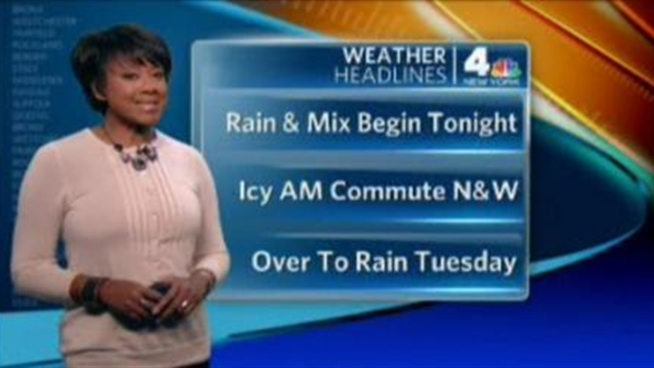 Janice Huff's forecast for January 16th, 2012.