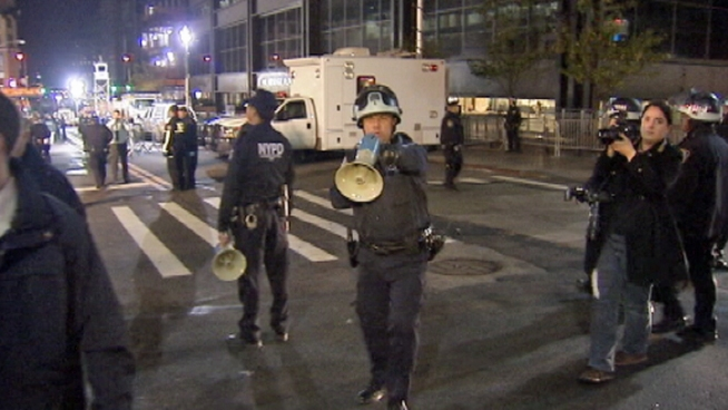Journalists Obstructed at Zuccotti Park