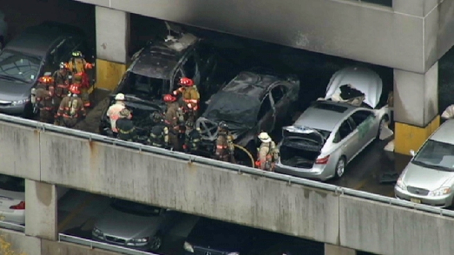 Car Catches Garage On Fire In Rochester: Authorities Investigate Burned Cars In New Jersey Parking