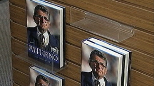 Joe Paterno's biography hit the shelves on Tuesday. Author Joe Posnanski follows Paterno in the months leading up to and after the Jerry Sandusky Scandal. NBC10's John Clark reports.