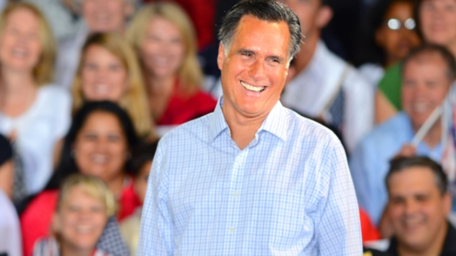 Presidential nominee Mitt Romney made a pitch to Hispanic voters at a Miami rally Wednesday night. He said the Republican Party is the natural home for Hispanic Americans, and criticized the unemployment rate of Hispanics under the administration of his rival, President Barack Obama.
