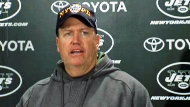 Jets head coach Rex Ryan says the organization will