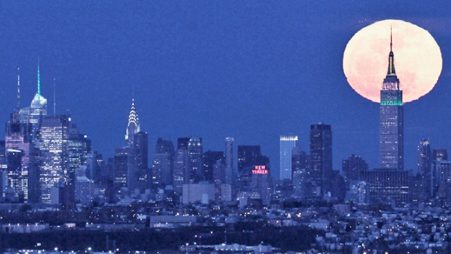 Moonstruck! Super Moon to Brighten Sky This Weekend | NBC New York