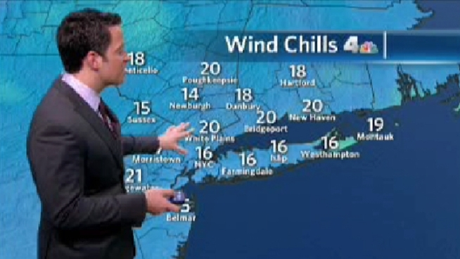 Your evening forecast for Wednesday, Jan. 4.