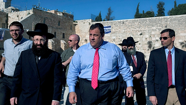 Taxpayers' Tab for Christie's Israel Trip: $39,871