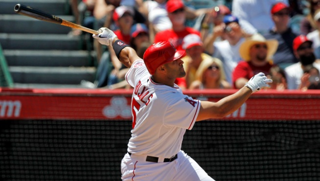 Pujols Hits First HR for Angels in 4-3 Win
