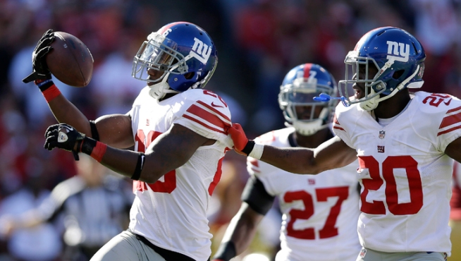 Giants Rout 49ers 26-3