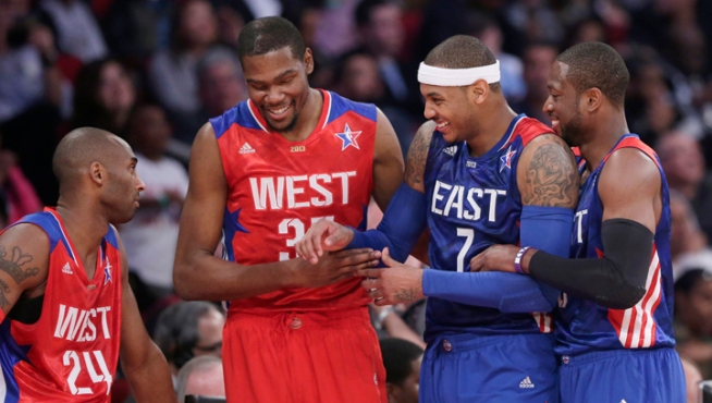 West Beats East 143-138 in NBA All-Star Game
