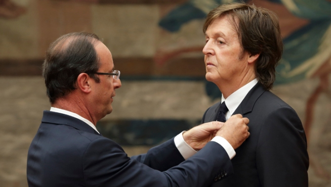 Ex-Beatle McCartney Gets French Legion of Honor