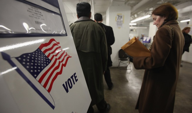 Some Hiccups Reported with New NY Voting Machines