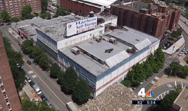 State officials say a massive building in Harlem is toxic, after hazardous waste was disposed there years ago. But the I-Team discovered dozens of people working in the building right now -- who were never told about the hazardous conditions before signing on to rent. Chris Glorioso reports.