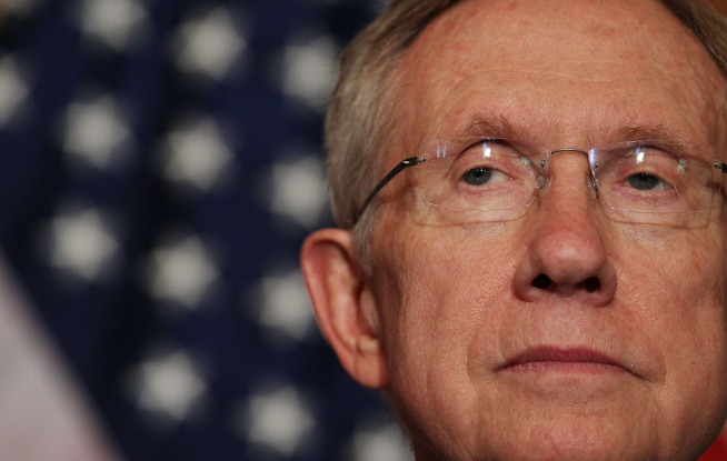 "Reid: GOP ""Making Love"" to Wall St."