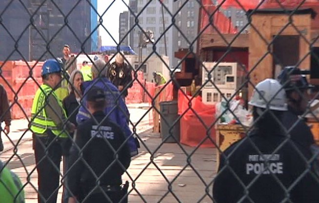 Worker Hospitalized After Fall at WTC Site